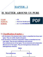 2 is Matter Around Us Pure