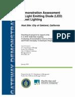 Emerging Tech Report Led Street Lighting