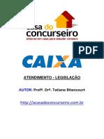 _ATENDIMENTO E LEGISLAÇÃO CEF