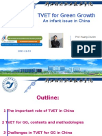 Huang Chunlin - TVET for Green Growth
