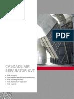 Cascade Air Separator KVT En