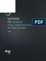 New Visions, New Leaders, Masters of Design and Innovation