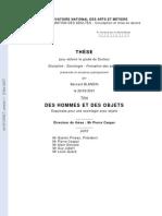 These_Blandin Des Hommes Et Des Objets
