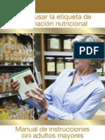 Cómo leer correctamente las Etiquetas Nutricionales