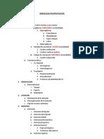 SEMIOLOGIA PSICOPATOLOGÍA
