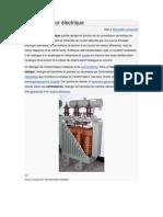 Transformateur électrique