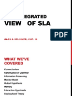 An Integrated View of Sla