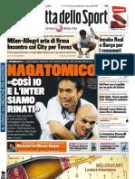 Gazzetta dello Sport - 16/12/2011