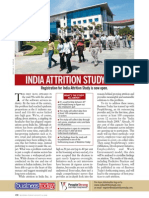 India Attrition Study