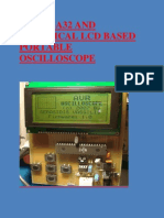 Atmega32 and Graphical Lcd Based Portable Oscilloscope