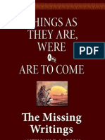 The Missing Writings
