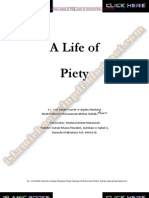 a life of piety