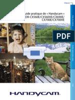 Guide Pratique du Handycam HDR-CX650E