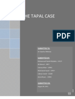 Tapal Tea Case Report