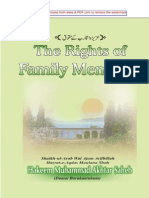 The Rights of Family Members