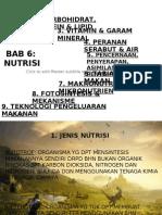 6.1 NUTRISI