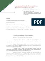 Precatórios, a responsabilidade da advocacia pública e a experiência do Município de SP