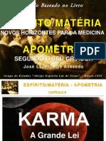 ESPIRITO MATÉRIA  - KARMA