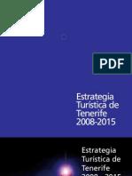 Estrategia Turistica de Tenerife 2008-2015