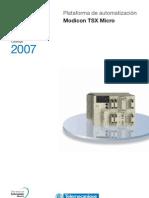 Catlogo Modicon Tsx Micro - 2007