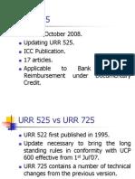 Uniform Rules for Bank to Bank Reimbursement 725
