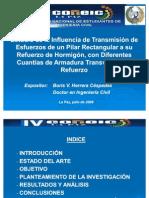 HORMIGON ESTUDIO DE VIGUETAS  /  Cement or Hormigon Pilars