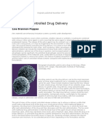 Polymer in Drug Delivery
