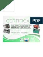 Certificado Pronto