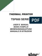 Tsp600 User Manual