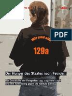 Die Geschichte Der Paragrafen 129, 129a und 129b und ihre Anwendung gegen die radikale Linke