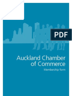 Auckland Chamber of Commerce Membership