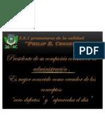 5.2.1 Pro Mot Ores de La Calidad-philip Crosby
