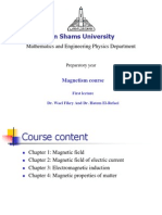 Magnetism Lecture1