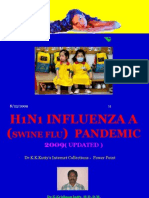 8ab3h1n1 Influenza a (Swine Flu ) Pandemic 2009 Power Point
