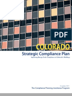 Colorado Strategic Compliance Plan