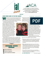 Financial Focus Newsletter - Fall 2011 issue