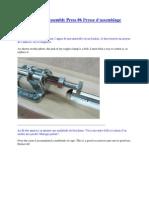 Adjustable Pen Assembly Press