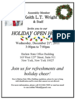 Holiday Open House Invite