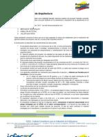 Guía de orientación - Proyecto de Arquitectura_2011_2