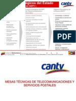 MESAS TÉCNICAS DE TELECOMUNICACIONES Y LINEAS ESTRATÉGICAS
