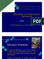Conceptos educacion ambiental