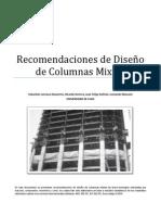 Recomendaciones de Diseño Columnas mixtas
