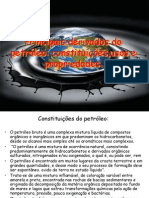 Principais derivados do petróleo
