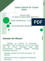 Pengolahan Internal Air Umpan Boiler