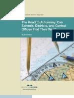 The Road to Autonomy