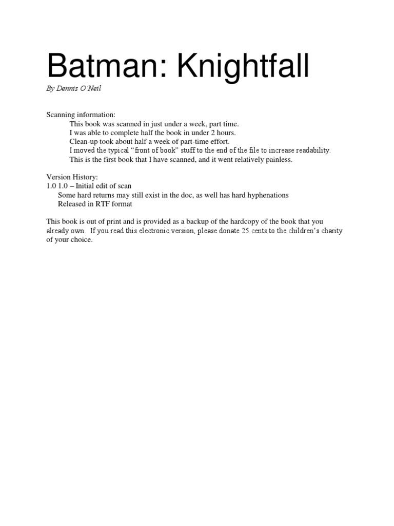 69e2bd690ecbc Batman | Batman | Nature