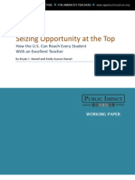 Seizing Opportunity at the Top