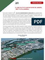 Multi Plan Press Release Land Acquisition e3a519e713e