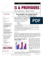 Payers & Providers National Edition December 2011