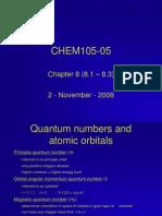 CHEM105 Ch8-1 2Nov